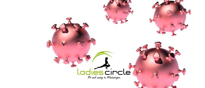 Coronavirus Ladies Circle Fitness frauen